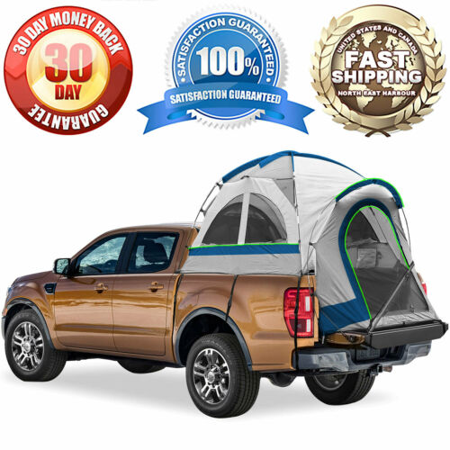 """Fits Compact Truck Regular Bed Pickup Truck Bed Camping Tent Sleeps 2 72/""""-73/"""""""
