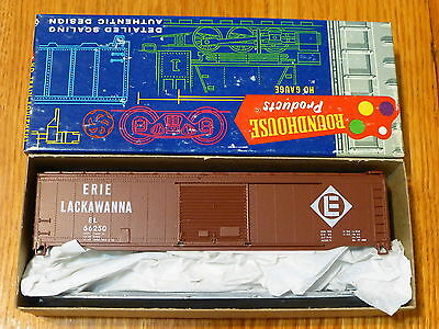 Roundhouse HO #1223 (Rd #66250) Erie Lackawanna 50' Boxcar kit