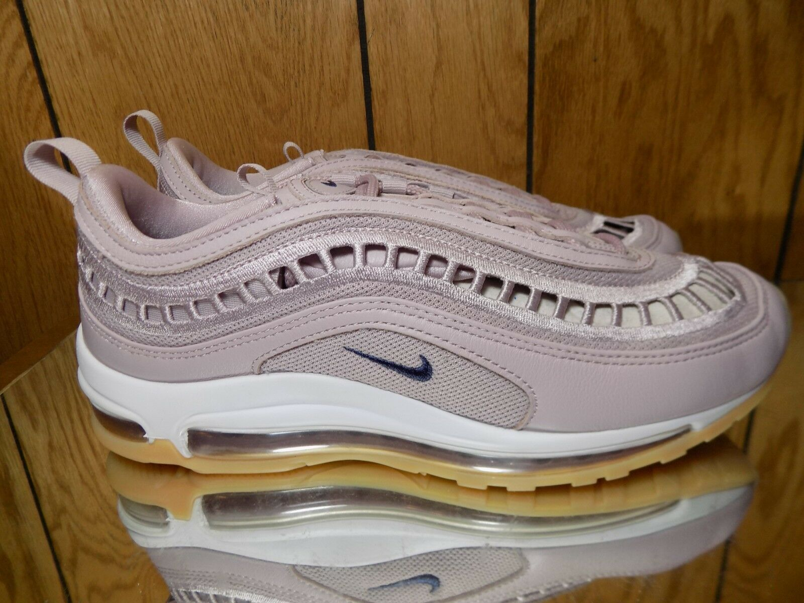 Womens Nike Air Max 97 UL 17 SI Size 10.5 Shoes Particle Rose Indigo AO2326 600