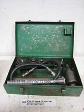 Greenlee Hydraulic Knockout Punch 7306 And Die Set 1 To 2