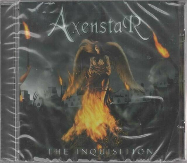 Axenstar The Inquisition CD NEU The Fallen One Under Black Wings Salvation