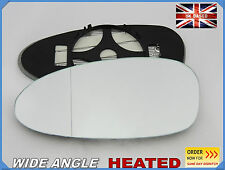 PORSCHE 911 CAYMAN BOXTER 2005-09 Wing Mirror Glass Wide Angle HEAT Left /PR005