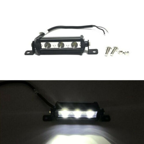 9W Universal LED Work Light Bar Spot/&Flood Driving Boat Road Wiring For Jeep new