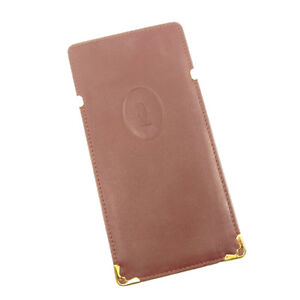 fd83861fbb8a Cartier glasses case Mastline Red Gold Woman unisex Authentic Used ...