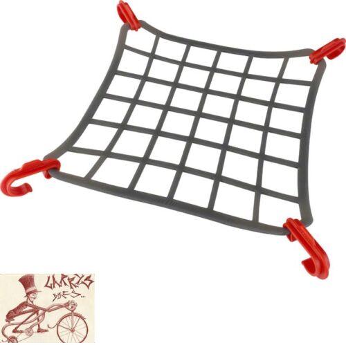 Delta Elasto Cargo Net pour vélo monté Racks