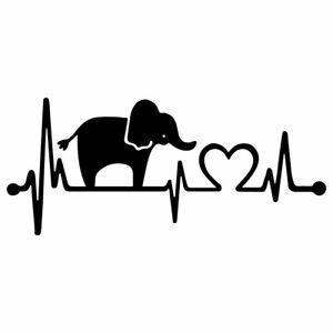 "Elephant Family Love 8/"" x 4/"" Vinyl Decal Sticker for Car Window Laptop"