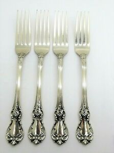 """Towle Old Master Sterling Silver Baby Fork and Spoon Set 4 1//8/"""" GIFT QUALITY!!"""