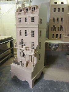 Dolls-House-12th-scale-The-Burlington-Town-House-in-kit-DHD-15-02