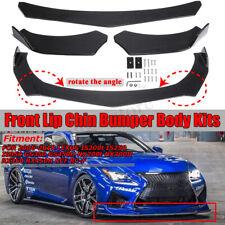 Carbon Fiber Front Bumper Lip Chin Spoiler Kit For LEXUS GS350 GS450H NX200t RCF