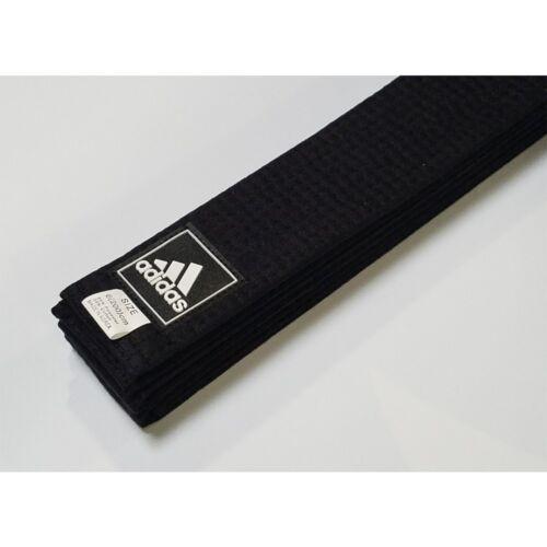 "adidas Karate Judo TKD Martial Arts 2/"" Wide Black Belt"