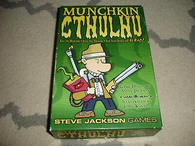 Munchkin Cthulhu Steve Jackson Games SJG 1447