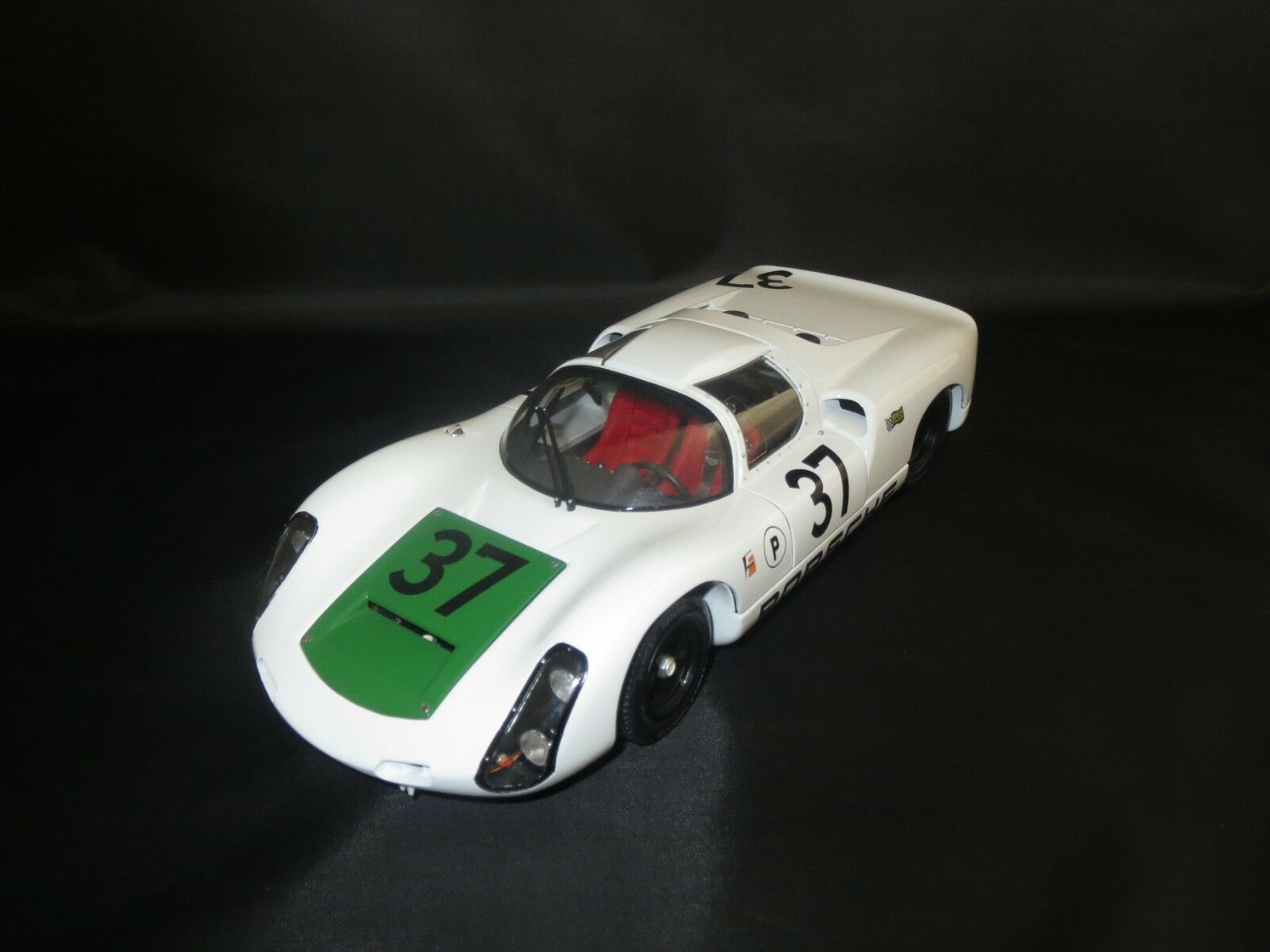 Exoto Motorbox PORSCHE 910 second (1967 Sebring 12 Hours  37) 1 18 Sans VP.