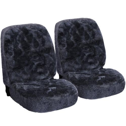 2x Lammfellbezug echt Lammfell Sitzbezug für PKW ohne Seitenairbag AS7334gr-2