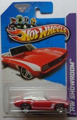 2013 Hot Wheels HW SHOWROOM '69 Camaro Col. #197 (Red Version)