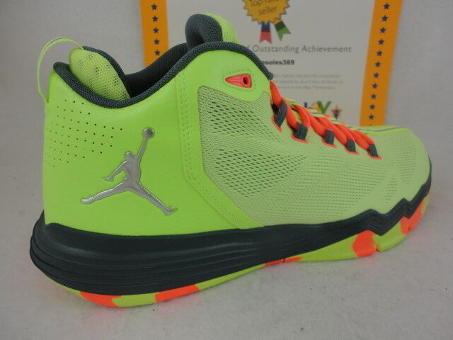 Nike Jordan CP3 IX AE, Ghost Green / Metallic Silver / HST, 833909 303, Sz 12