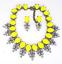 Fashion-Elegant-Women-Bib-Crystal-Pendant-Statement-Chain-Chunky-Choker-Necklace thumbnail 79