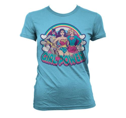 Officially Licensed Batman Girlpower Women T-Shirt S-XXL Sizes