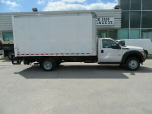 2015 Ford F 550 DIESEL 16FT ALUM BOX & POWER LIFT  X  2  AVAILABLE