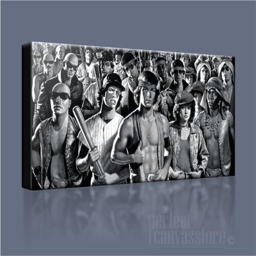 Les guerriers vintage gang warfare emblématique toile art imprimé photo art williams