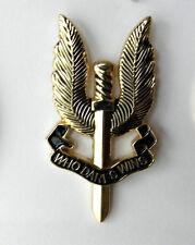 "S.A.S. WHO DARES WINS SPECIAL AIR SERVICE BRITISH SAS PARA WINGS BADGE PIN 1.75"""