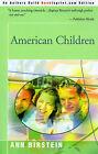 American Children by Ann Birstein (Paperback / softback, 2000)