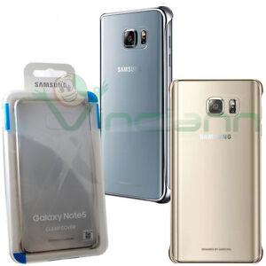 Custodia-CLEAR-COVER-originale-Samsung-per-Galaxy-Note-5-N920i-trasparente