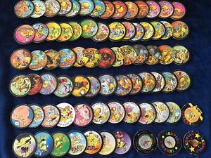 144-Lot-72-Pulg-2-Kini-Glup-s-100-Bonbons-Pog-Pogs-Cap-Caps-Tazo-Slammer
