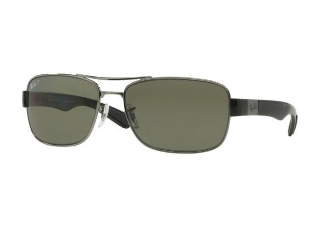 Ray-Ban Sunglasses RB3522  004/9A gunmetal green polar