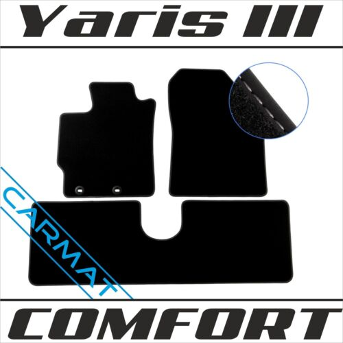 Fussmatten Autoteppiche COMFORT 2012 Toyota Yaris III P12 Bj