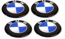 KIT 4 ADESIVI BMW RESINATI 2 CM 3D STICKERS ADESIVO LOGO RESINATO COD10