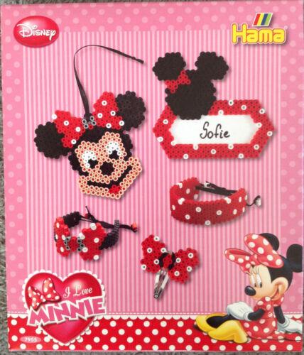Haarspange Hama GP 7955 Disney Minnie Maus midi Bügelperlen Stiftplatte