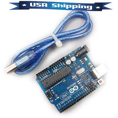 UNO R3 Board ATmega328P ATmega16U2 with USB Cable for Arduino
