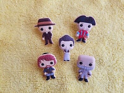 OUTLANDER shoe charms//cake toppers! FAST USA SHIPPING! SET OF 5!