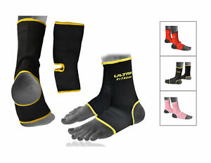 Ankle-Brace-Foot-Support-Guard-Boxing-Thai-Kick-Protector-Achilles-Tendon-Injury