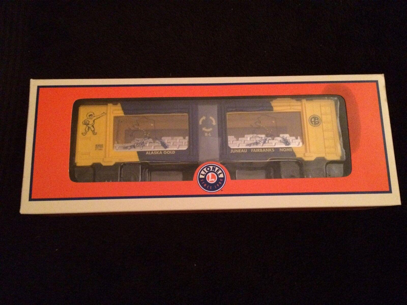 Lionel 83633 Alaska oro Mint Car Nuovo in Box