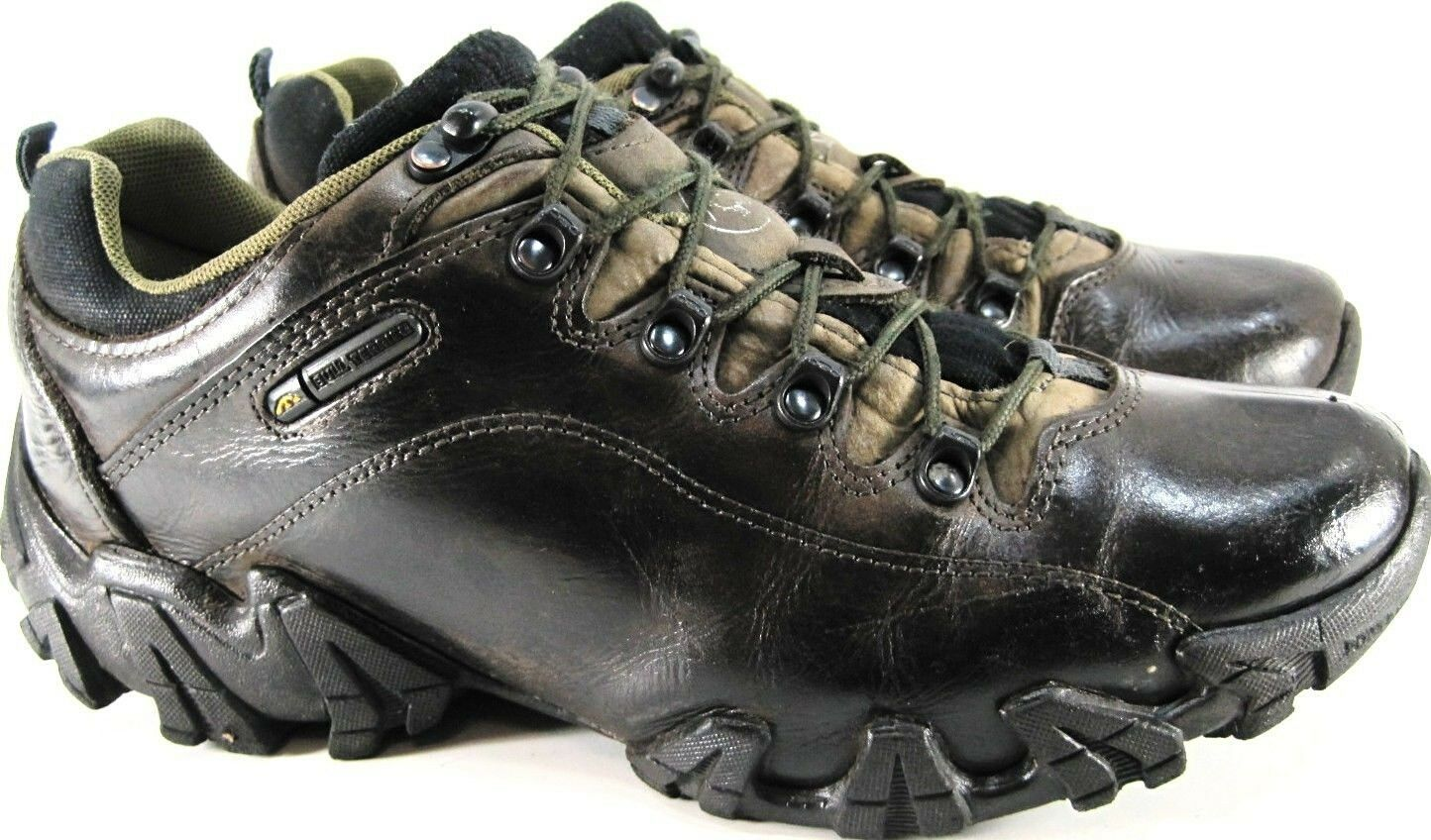 Bull Terrier Men Hiking Shoes Size 10 Brown Ortho Comfort Style OB3/0816-5016