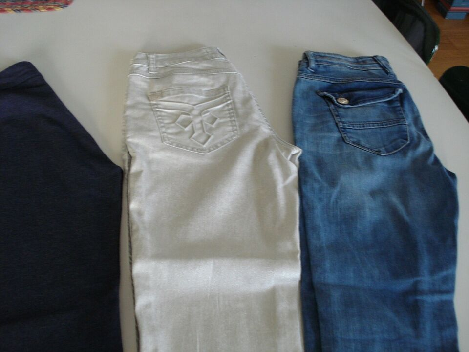 Jeans, Pulz + Mos Mosh +Tommy Hilfiger, str. 36