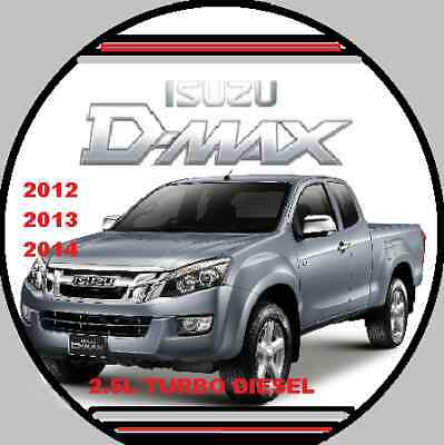 isuzu d-max tfr tfs 2012-2013-2014 factory workshop repair manual cd | ebay  ebay