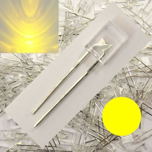 LED Rectangular Yellow Clear 2x5x7mm 1//10//25//50 quantity selectable 2x5mm C3647