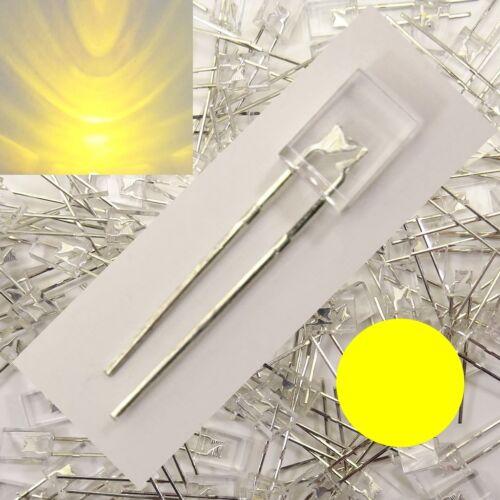 LED Rechteckig Gelb Klar 2x5x7mm 1/10/25/50 Stückzahl wählbar 2x5mm C3647