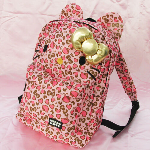 Sanrio Hello Kitty Pink Leopard Backpack Limited Edition With Tracking for  sale online  42222846cd959