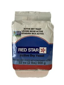Red Star Active Dry Yeast- 2 lbs 32oz Bread Fast Handling ...