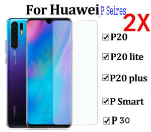 1//2x TEMPERED GLASS FILM SCREEN PROTECTOR FOR HUAWEI P20 PRO P20 LITE GORILLA