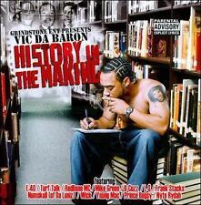 CD VIC DA BARON  HISTORY IN THE MAKING  E-40 NUMSKULL(DA LUNIZ)REDBONE: RARE RAP