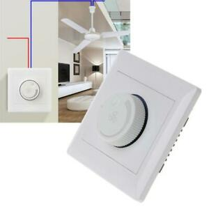 Details About 220v 200w Ceiling Fan Sd Control Switch Wall On Dimmer Adjustment