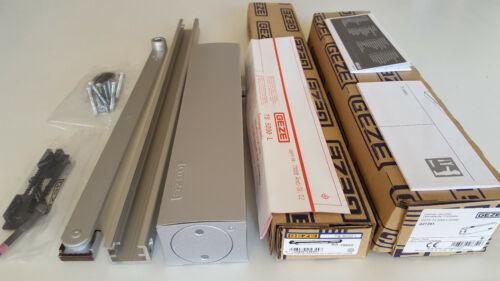 027351 silber Rechnung mit MwSt GEZE TS 5000 L Türschließer /& Gleitschiene Art