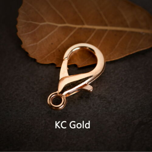 20 Pcs 10 12 14 16 18 21mm Lobster Clasps Hooks For Necklace Bracelet Chain RKCA