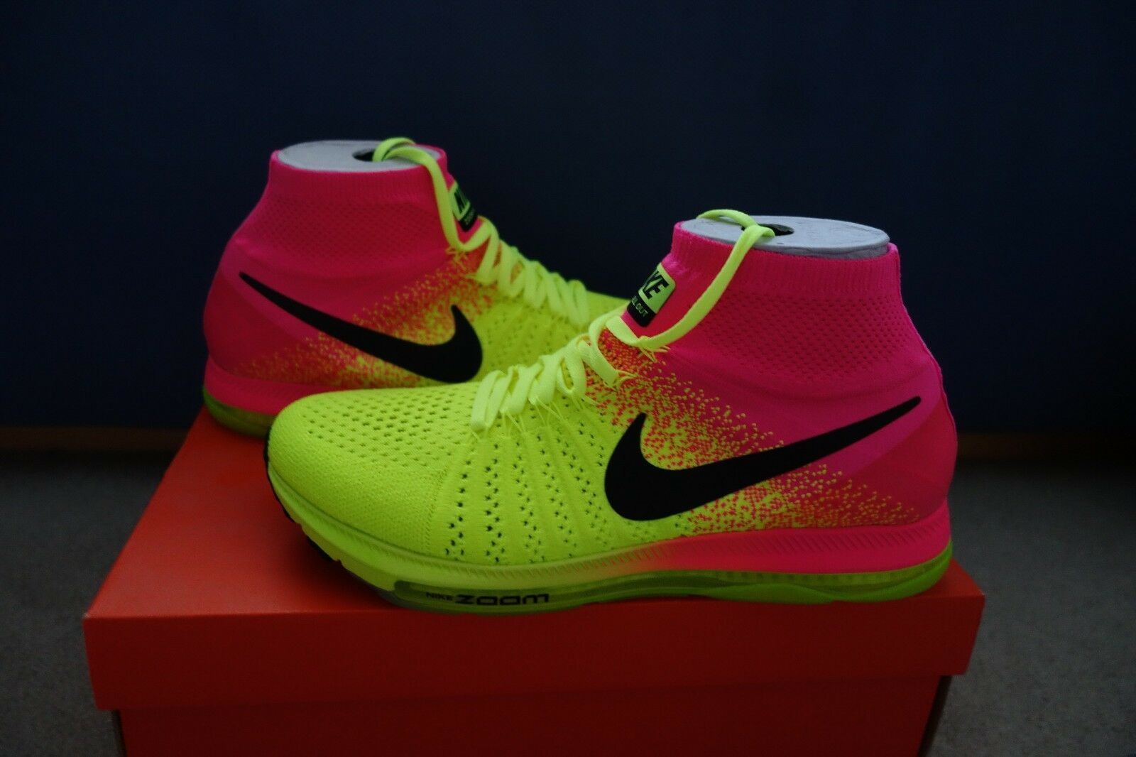 Nike Zoom All Out Flyknit OC Unlimited size 9.5 845716-999