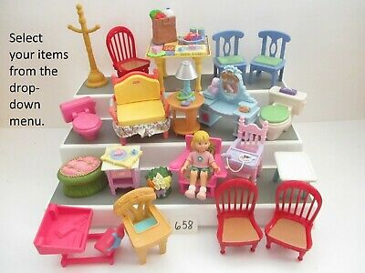 YOU CHOOSE Lights /& Sounds Fisher Price Loving Family Large Furniture