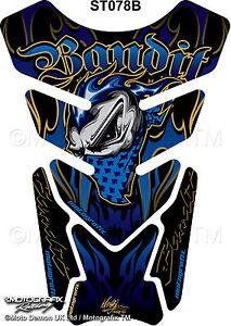 Suzuki Bandit 600 650 1200 1250 Motorcycle Tank Pad Motografix 3d Gel Protector Ebay